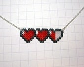 heart meter necklace