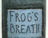 FROGS BREATH NIGHTMARE BEFORE CHRISTMAS POTIONS HERBS MAGNET