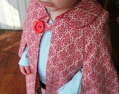 Little Red Riding Cape 18M\/2T