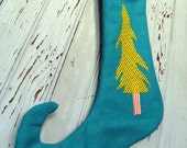 Christmas Trees in Whoville Elf Stocking
