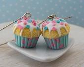 Confetti Cupcake Earrings