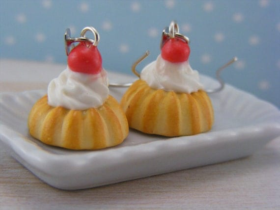 Rum Baba Earrings