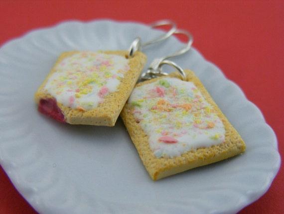 Strawberry Pop Tart Earrings