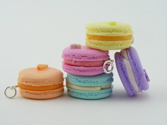 Pastel Macaron Pendant / Charm - ON SALE
