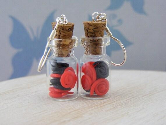 Liquorice Wheels Earrings