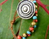 Braided Leather Boho Bracelet