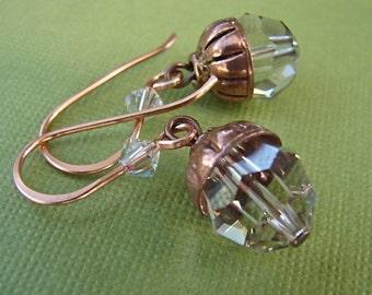 Crystal acorns