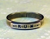 sz 7 Silver RUN Ring
