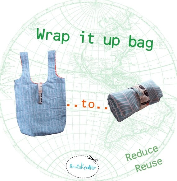 Wrap it up bag pattern