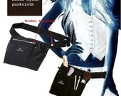Service Pouch/ Apron for work, home, and everything else (blk-nyl-nk)