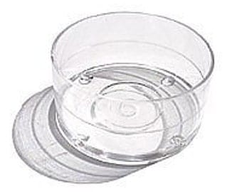 Plastic Tealight Cups - 100 - Containers Tea Light