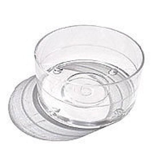 Plastic Tealight Cups - 100 - Containers Tea Light with Wicks