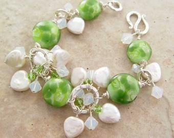 Luck of the Irish Cha Cha Style Bracelet