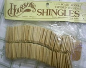 Wood Roofing Tapered  Mini Shingles 100 pieces