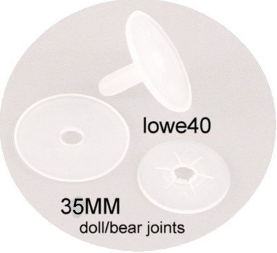 55MM plastic doll joints 12 sets bear doll making
