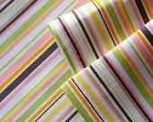 SALE - BIG SIZE - Striped patterns in spring - Japanese fabric