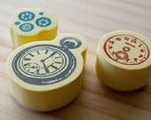 NEW - Duet Stamp Set - 3s - Clock
