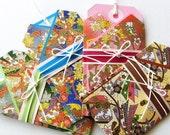 No.02 -  4pcs - Japanese echizen Kimono Gift Card