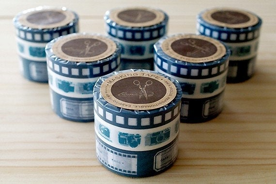 MASKING TAPE - Camera - Blue