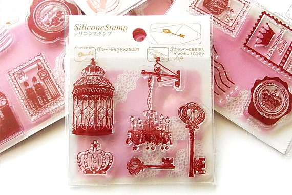 SALE - Clear stamp - Light