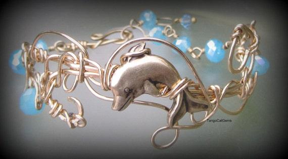 Whisper of Summer   Dolphin Bracelet