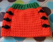 Dog Sweater Vest - Size S  - Pumpkin - Ready to Ship