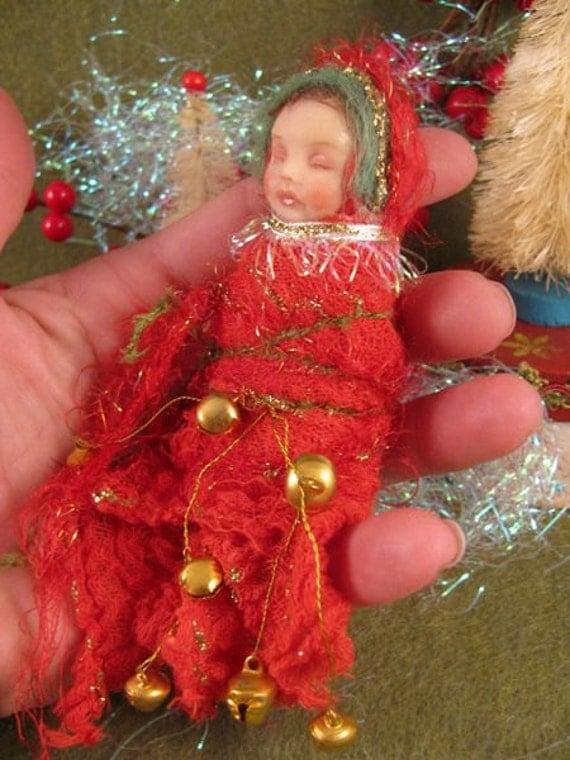 OOAK Christmas Morning Baby