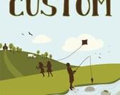 Custom Order for soriamoria by julie blanchette on etsy