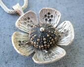 Sea Urchin Collection-Dark Flower Necklace