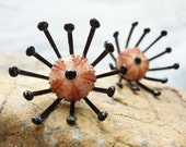 Sea Urchin Collection - Special Halloween Earrings