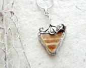 Sea Treasure Collection - Soldered Beach Pottery Necklace