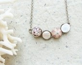 Sea Urchin Collection - Four Treasures Necklace