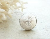 Mushroom Coral Cocktail Ring - Sea Treasure Collection