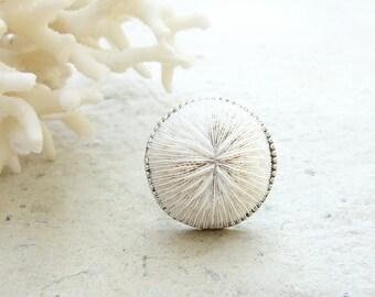 Mushroom Coral Cocktail Ring - Sea Treasure Collection