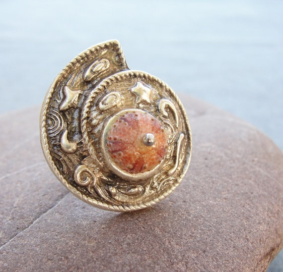 Sea Urchin Collection-A Shell in a Shell Ring