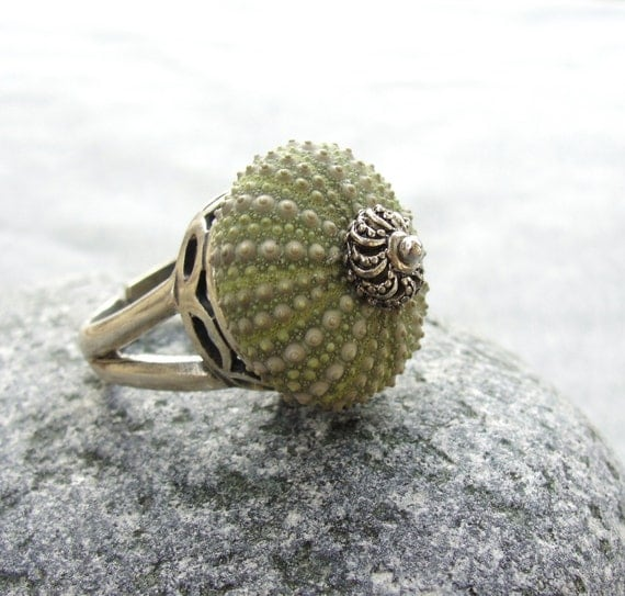 Sea Urchin Collection-Green Sultan Ring