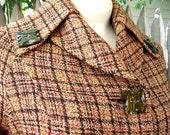 Eleanor Rigby vintage 60s plaid coat