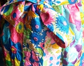 Floralia vintage 60's wrap skirt