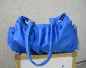 SALE Petit Pomegranate Leather Bag in Royal Blue Colour