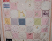 Baby Clothes Quilt Custom for Sophia