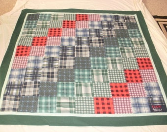 Memory Quilts custom made for Diane