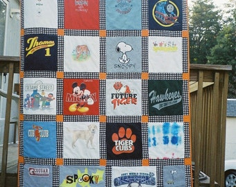 T-SHIRT/MEMORY SPORTS QUILT