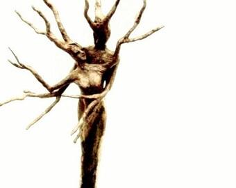 untitled tree couple print