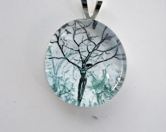 Tree Spirit Print Pendant