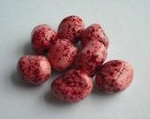 jelly bean glass beads - 8