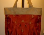 Large Lux Tuck Tote Bag