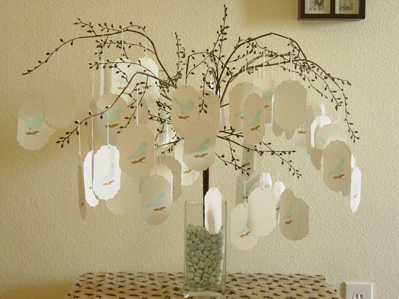 Wedding Wish Tree Vase And Pebbles Not Included In By CraftZany
