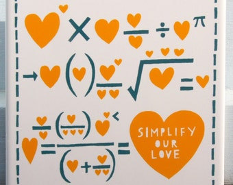 Simplify Our Love ceramic tile