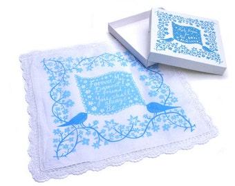 Two Birds Bridesmaid Handkerchief Collaboration