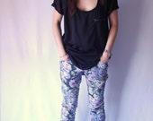 SALE 40 Percent off- Velouria Floral Jeans